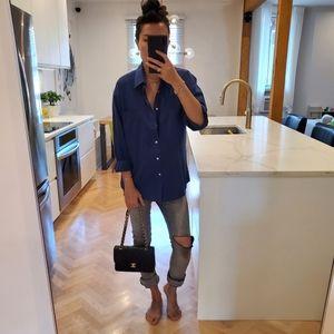 Christian Dior oversize cotton blouse